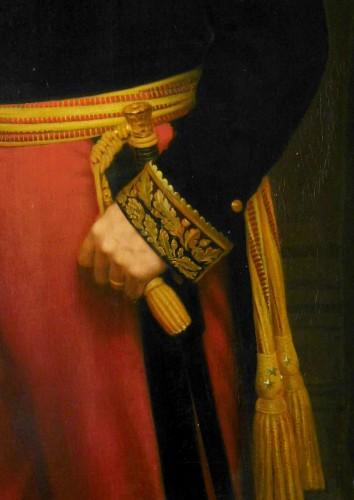 Napoléon III - Eugène Laville - tall portrait of General Barral 175cm x 124cm