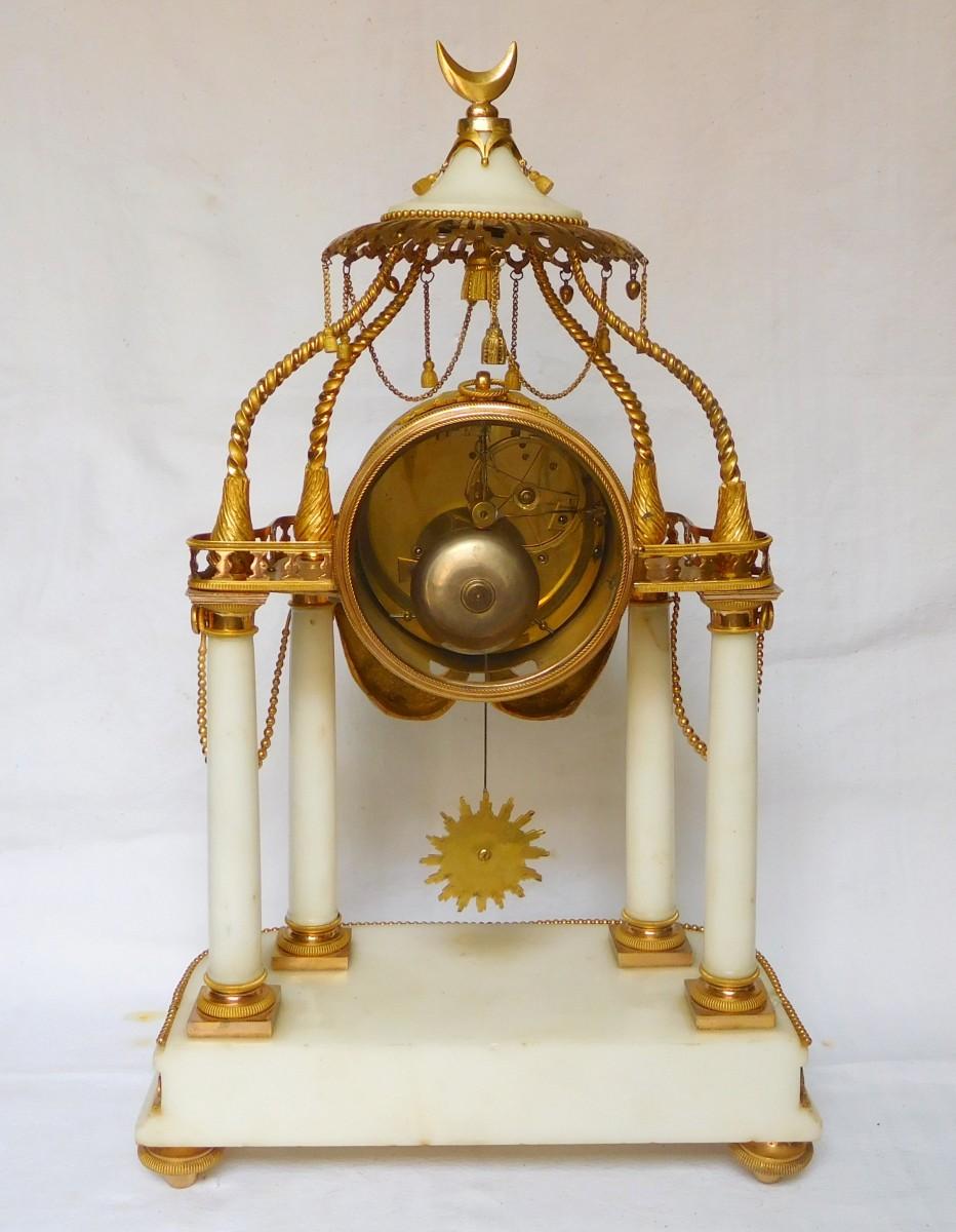 18th Century So-called A La Turque Clock By Furet - Louis