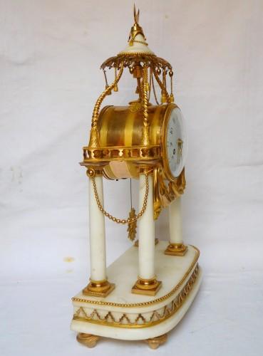 Clocks  - 18th Century So-called A La Turque Clock By Furet - Louis XVI Period