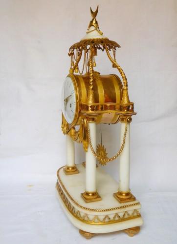 18th Century So-called A La Turque Clock By Furet - Louis XVI Period -