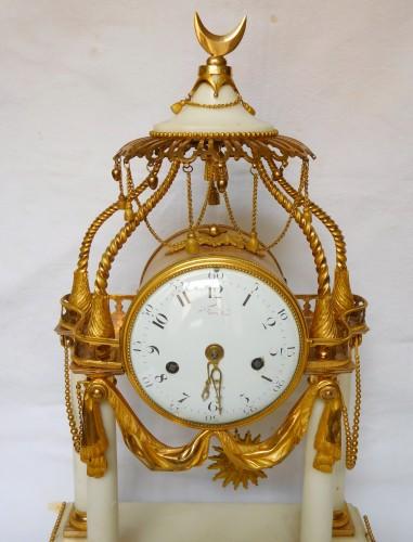 Antiquités - 18th Century So-called A La Turque Clock By Furet - Louis XVI Period