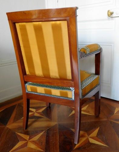 Empire period desk mahogany armchair  - Empire