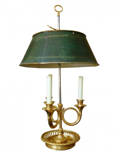 Louis XVI Period Ormolu Bouillotte Lamp - France, Late  18th Century