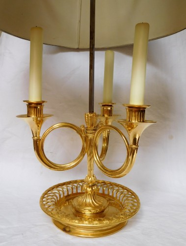 Louis XVI Period Ormolu Bouillotte Lamp - France, Late  18th Century - Directoire
