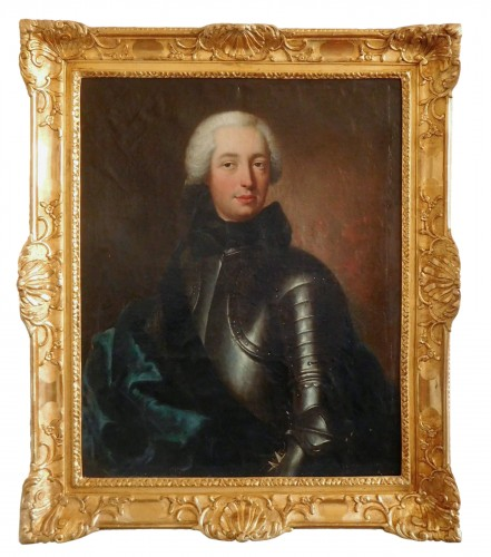 Portrait Of A French Aristocrat,  Knight Of Malta - Charles Baziray (ca 1685 - 1755)