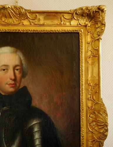 18th century - Portrait Of A French Aristocrat,  Knight Of Malta - Charles Baziray (ca 1685 - 1755)