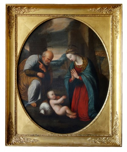 Holy Family After Raphael - 17th Century Italian School