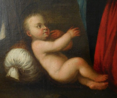 17th century - Holy Family After Raphael - 17th Century Italian School