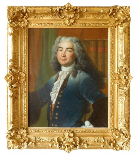 18th Century French School, Portrait Of An Aristocrat
