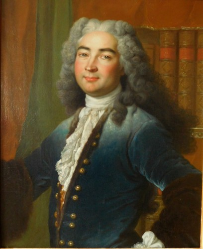 18th Century French School, Portrait Of An Aristocrat - Paintings & Drawings Style