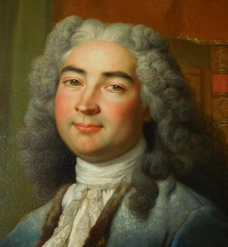 18th Century French School, Portrait Of An Aristocrat -