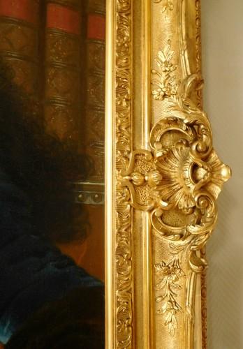 18th century - 18th Century French School, Portrait Of An Aristocrat