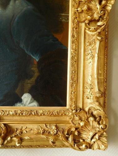 - 18th Century French School, Portrait Of An Aristocrat