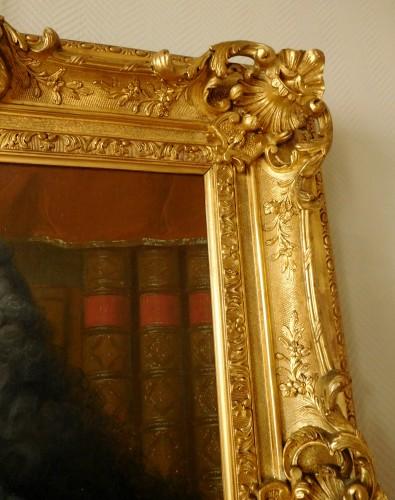 Antiquités - 18th Century French School, Portrait Of An Aristocrat