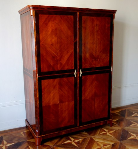 Large Louis XV Wardrobe by Claude Charles Saunier  - Furniture Style Louis XV