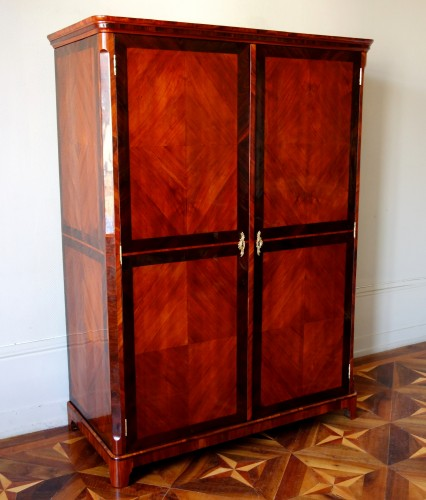 Furniture  - Large Louis XV Wardrobe by Claude Charles Saunier