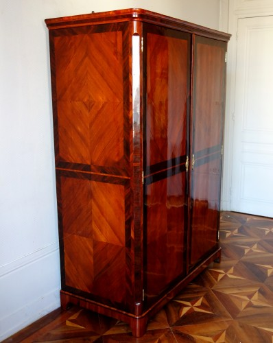 Large Louis XV Wardrobe by Claude Charles Saunier  -