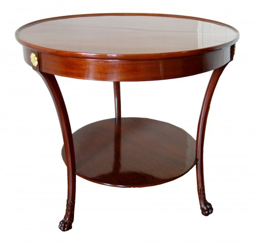 Mahogany so-called cabaret table, Consulate period, attributed to Molitor