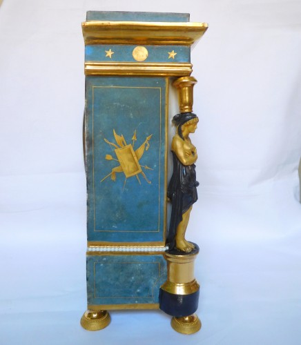 19th century - Porcelain Clock Circa 1800-1805