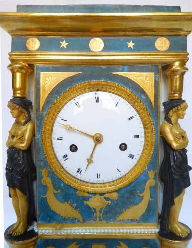 Antiquités - Porcelain Clock Circa 1800-1805