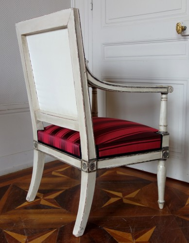 2 Empire Armchairs Coming From The Tuileries And Fontainebleau Palaces -