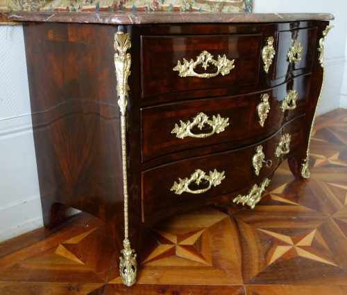 18th century - French Louis XV chest of drawers stamped by Mathieu CRIAERD