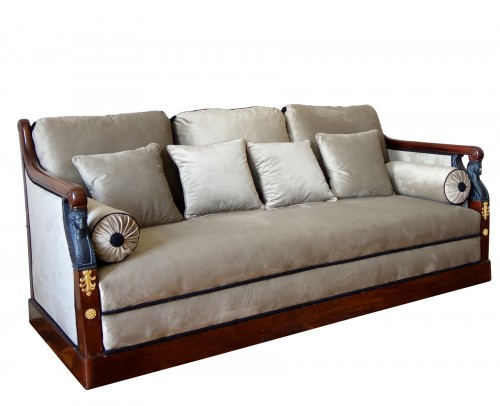 Turkish style sofa from the Empire period