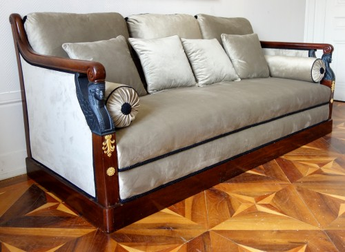 Turkish style sofa from the Empire period - Seating Style Empire
