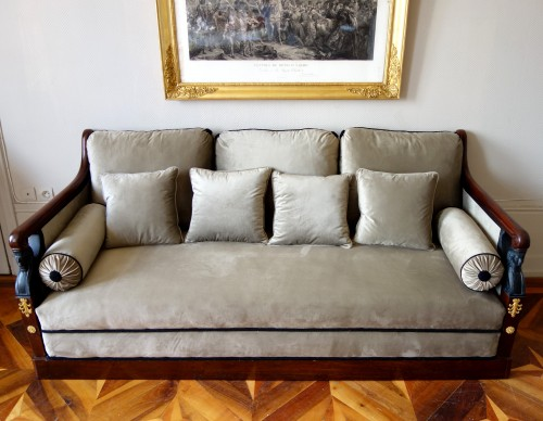 Turkish style sofa from the Empire period -