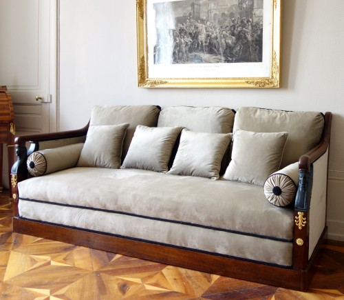 Turkish style sofa from the Empire period - Empire