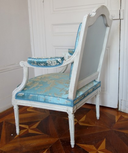 18th century - Pair of armchairs stamped Jean Baptiste Boulard