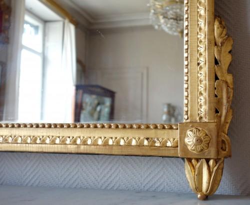 18th century - Louis XVI provencal giltwood Mirror