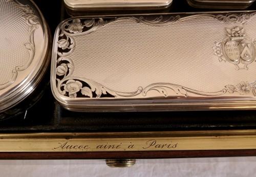 19th century - Aucoc - Travel / vanity set