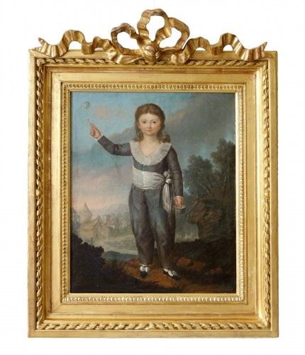 Portrait of Louis Joseph of France first Dauphin, oil on canvas