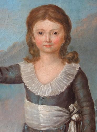 Louis XVI - Portrait of Louis Joseph of France first Dauphin, oil on canvas