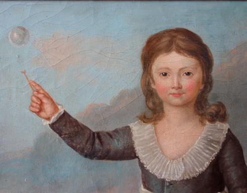 Antiquités - Portrait of Louis Joseph of France first Dauphin, oil on canvas