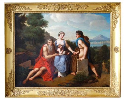Early 19th Century French School : 3 Stages Of Life After Francois Gerard -