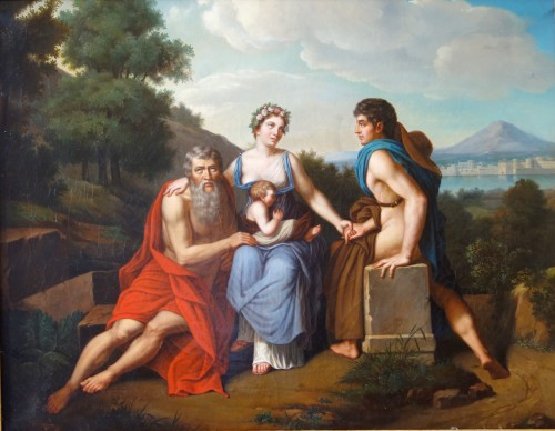 Paintings & Drawings  - Early 19th Century French School : 3 Stages Of Life After Francois Gerard -