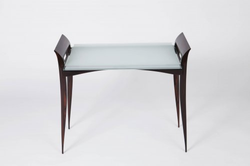 "Mobilier Table & Guéridon - Table desserte "" Rasson"" par E.J Ruhlmann"