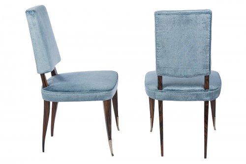 Seating  - Emile Jacques Ruhlmann  - pair of chairs
