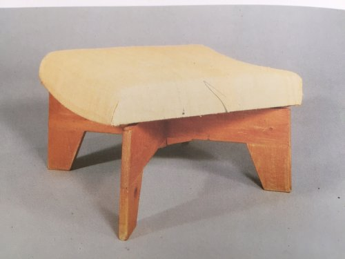 20th century - E . Eyre de lanux - stool