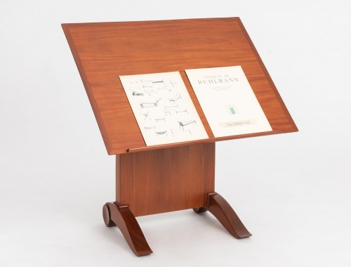 Antiquités - E J Ruhlmann  - Reading table