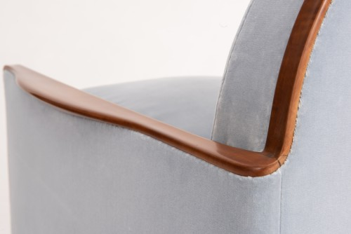 E.J Ruhlmann - Wing Chair  - Art Déco