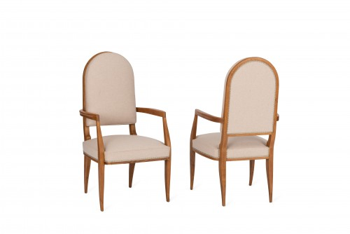 Alfred Porteneuve -  Armchairs pair  - Seating Style Art Déco