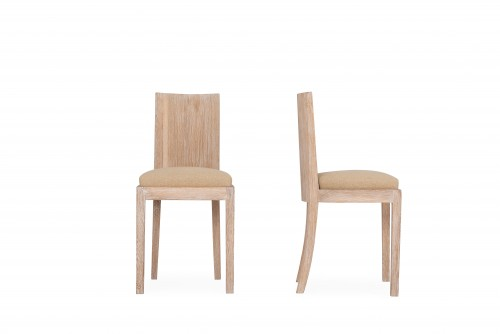Seating  -  Jean Michel Frank  / 2 Chairs