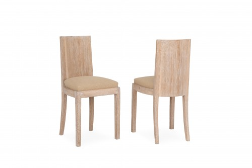 Jean Michel Frank  / 2 Chairs  -