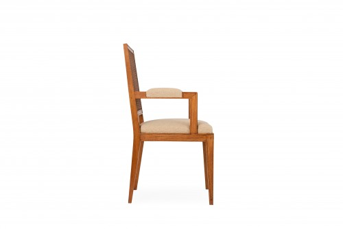 Oak armchair - attributed to Marc Duplantier - Seating Style Art Déco