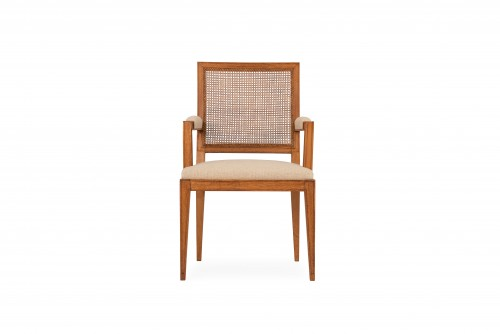 Seating  - Oak armchair - attributed to Marc Duplantier