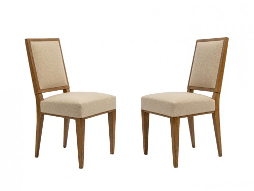 Jacques Quinet  pair of chairs
