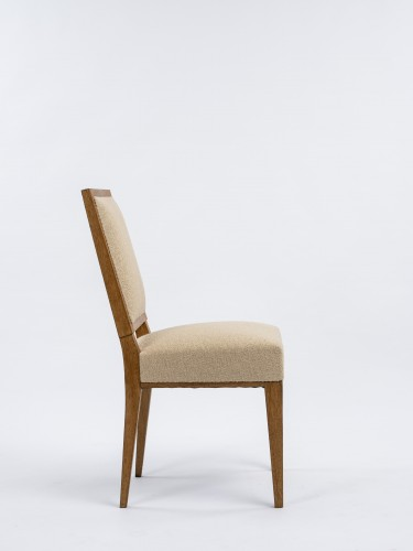 Seating  - Jacques Quinet  pair of chairs